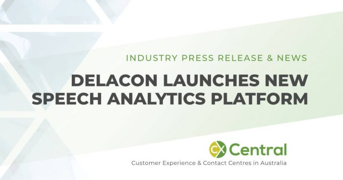 Delacon speech analytics platform for contact centres