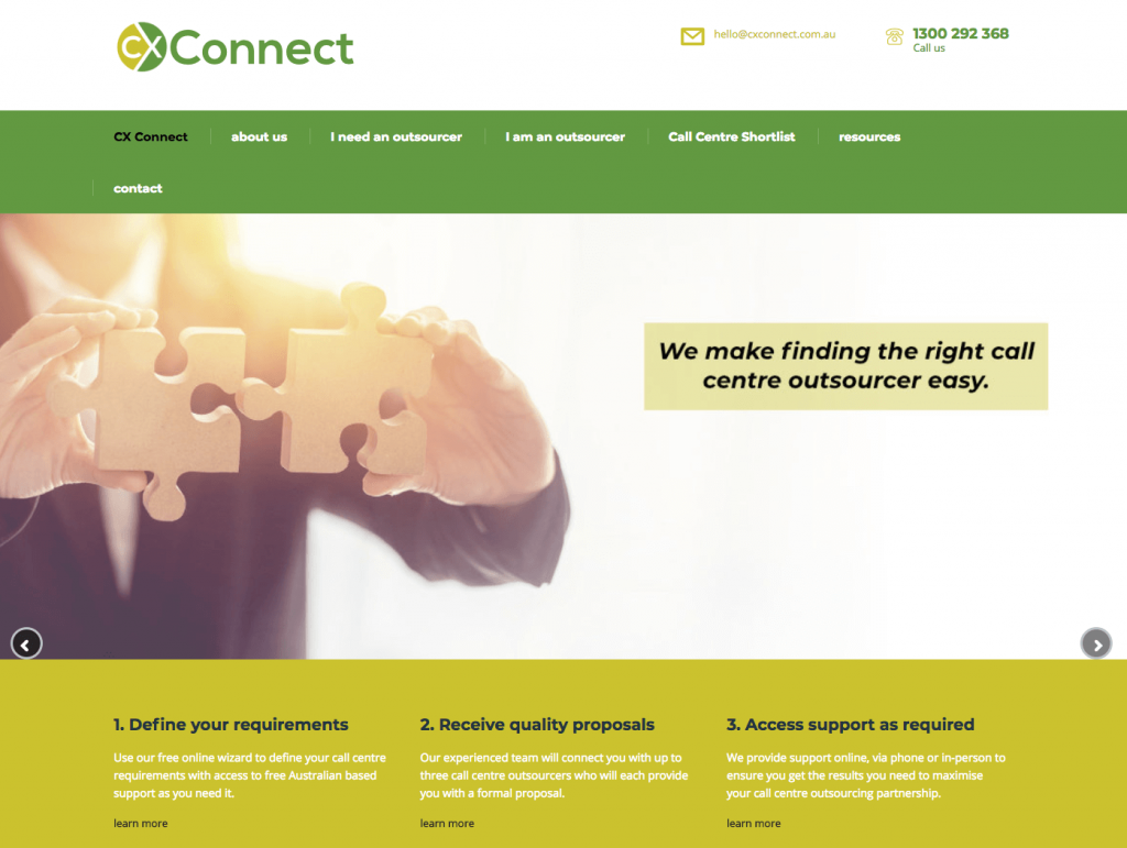 Home page image of CX Connect