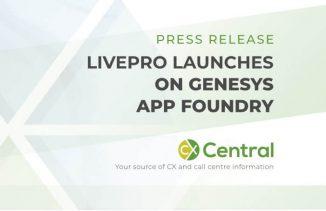Livepro launches on Genesys