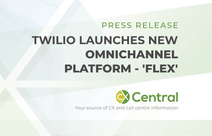Twilio launches flex contact centre platform