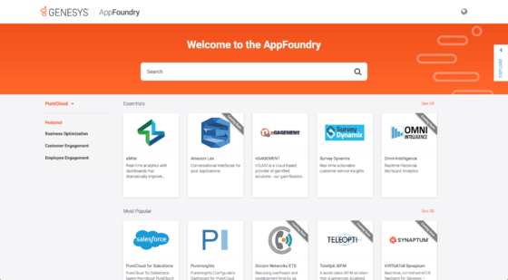Welcome to the Genesys AppFoundry