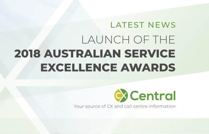 2018 Australian Service Excellence Awards