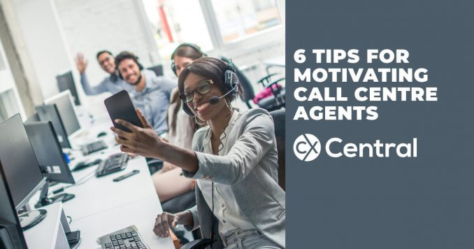 6 Tips for motivating call centre agents