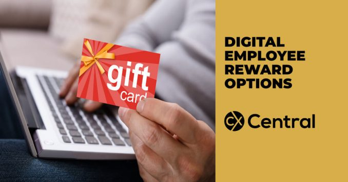 Digital Employee Reward options