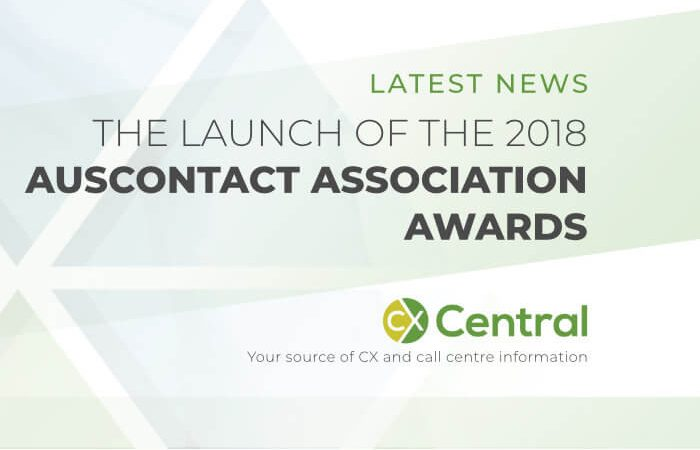 Launch of the 2018 Auscontact Association Awards