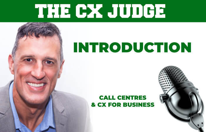 CX Judge Podcast S1E1 Introduction