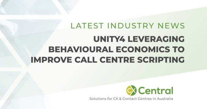 Unity4 leveraging Behavioural Economics to improve call centre scripting