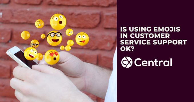 Is using emojis in customer service now acceptable?
