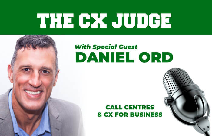 CX Judge Podcast S1E2 Interview with Daniel Ord