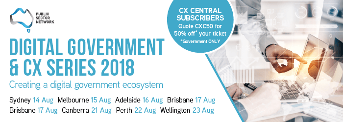 Digital Government and Customer Experience Series 2018