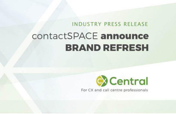 contactSPACE announce new logo