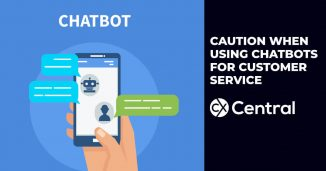 Caution when using chatbots for customer service