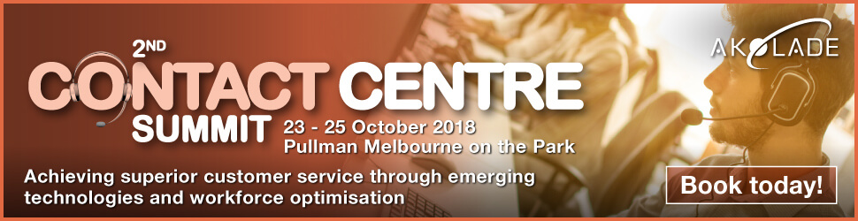 Akolade 2nd Contact Centre Summit being held in Melbourne October 2018