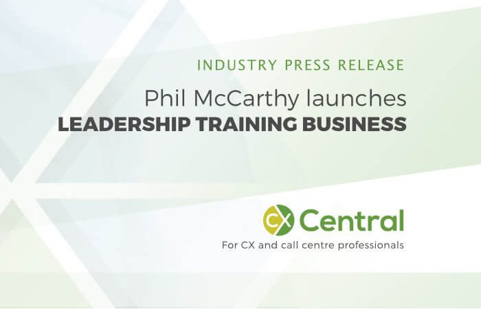 Phil McCarthy launches training and coaching business