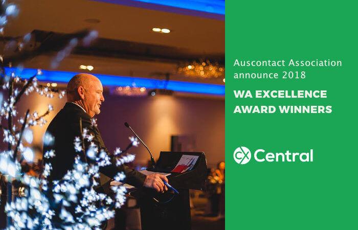 Auscontact 2018 Western Australia award winners