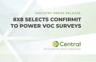 8X8 select confirmit to conduct VOC Surveys