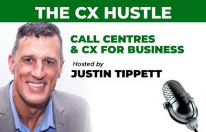 CX Hustle Podcast hosted by Justin Tippett
