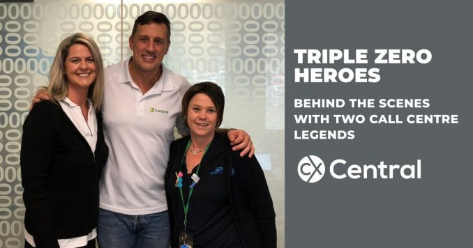 Triple Zero Heroes who work in the call centre