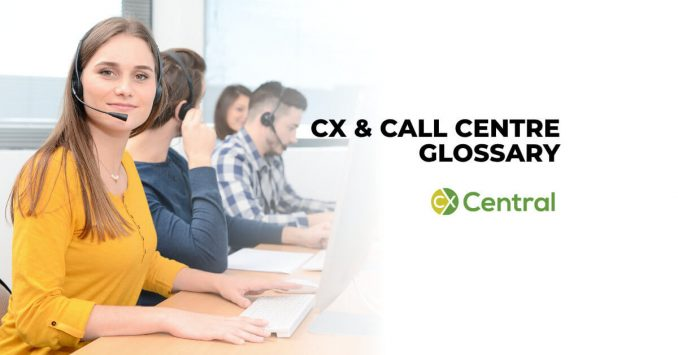 call centre glossary