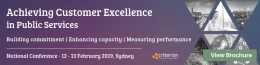 Achieving Customer Excellence in Public Services coming up in Melbourne