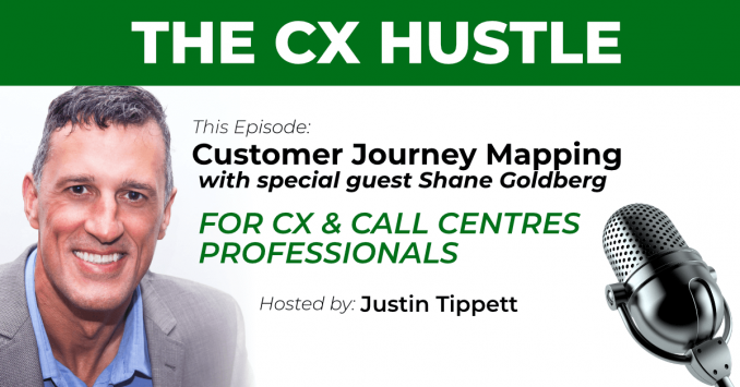 Customer Journey Mapping podcast with Shane Goldberg
