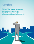 Convergys Outcome Based Contracts
