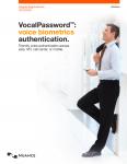 Nuance VocalPassword full cover