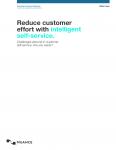 Reduce Customer Effort with Intelligent Self-Service