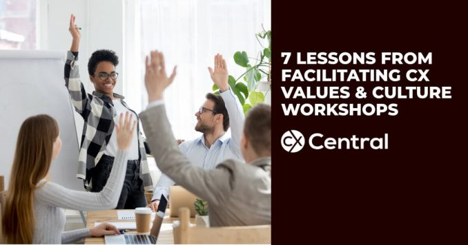 how to drive cx values and culture in your business