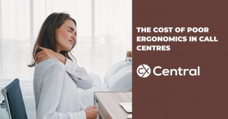 The cost of poor ergonomics in call centres