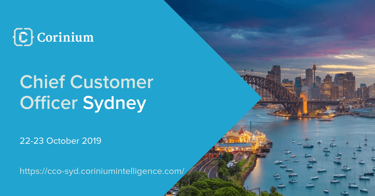Chief Customer Officer Conference Sydney October 2019
