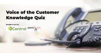 Voice of the Customer Quiz