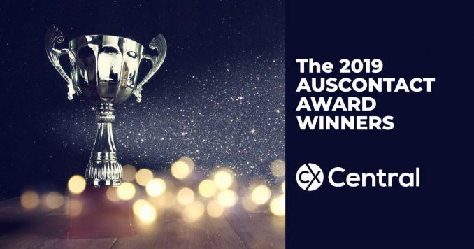 2019 Auscontact Association Award Winners for call centre excellence in Australia