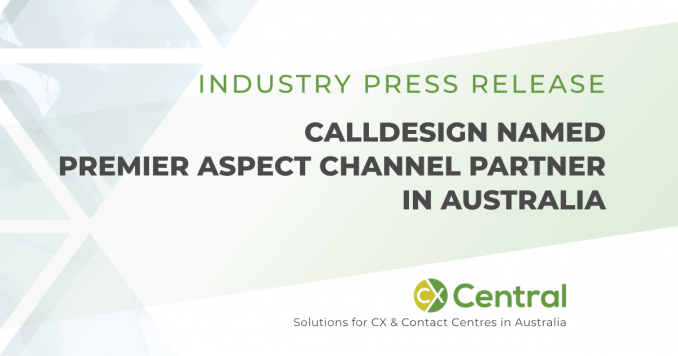 calldesign named premier aspect channel partner in Australia