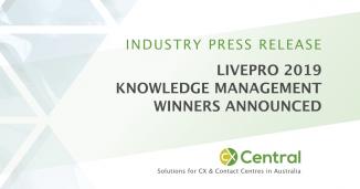 2019 livepro Knowledge Management Award Winners