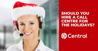 hiring a call centre for the holidays