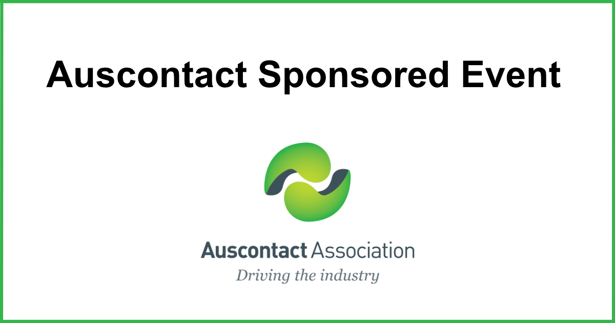 Auscontact Association Sponsored Event