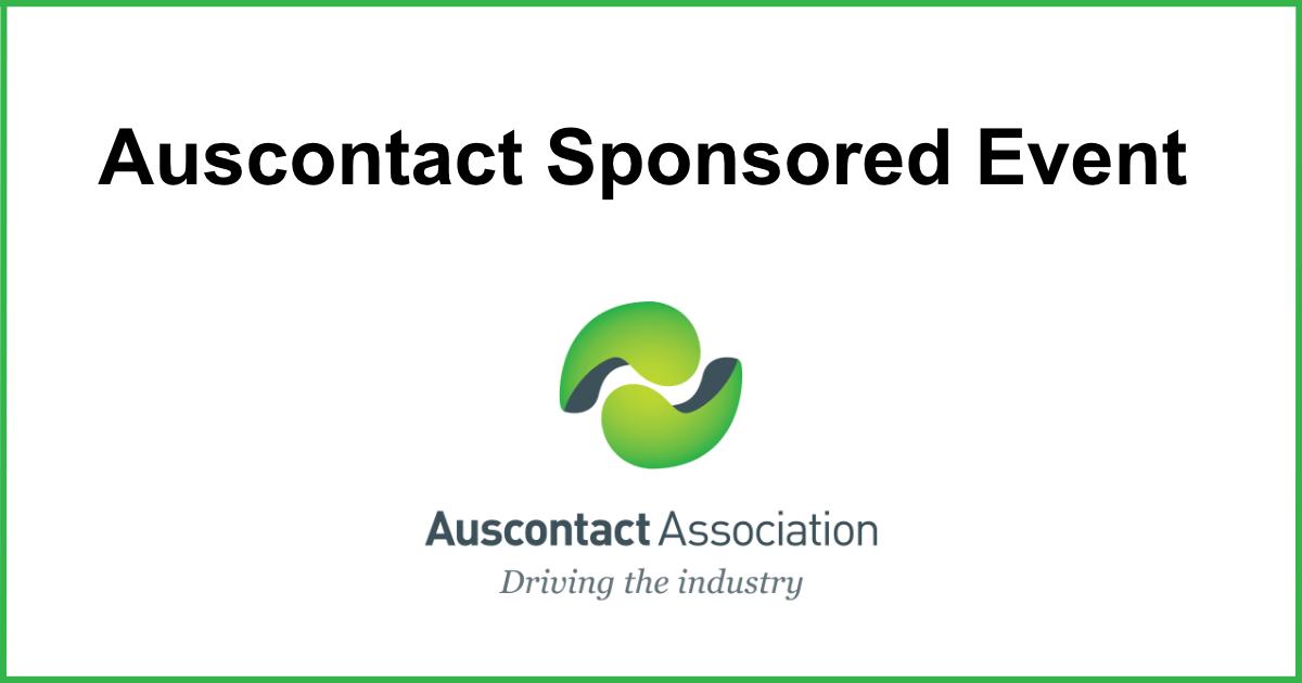 Auscontact Association logo for a Sponsored Event