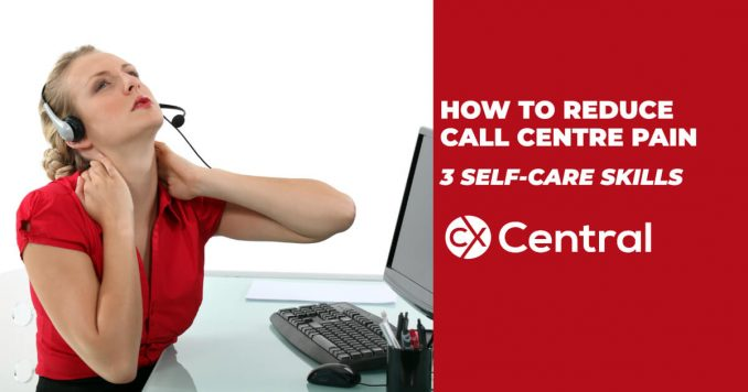 How to reduce call centre pain with three easy skills