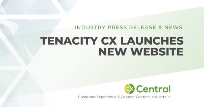 Tenacity CX launch new website