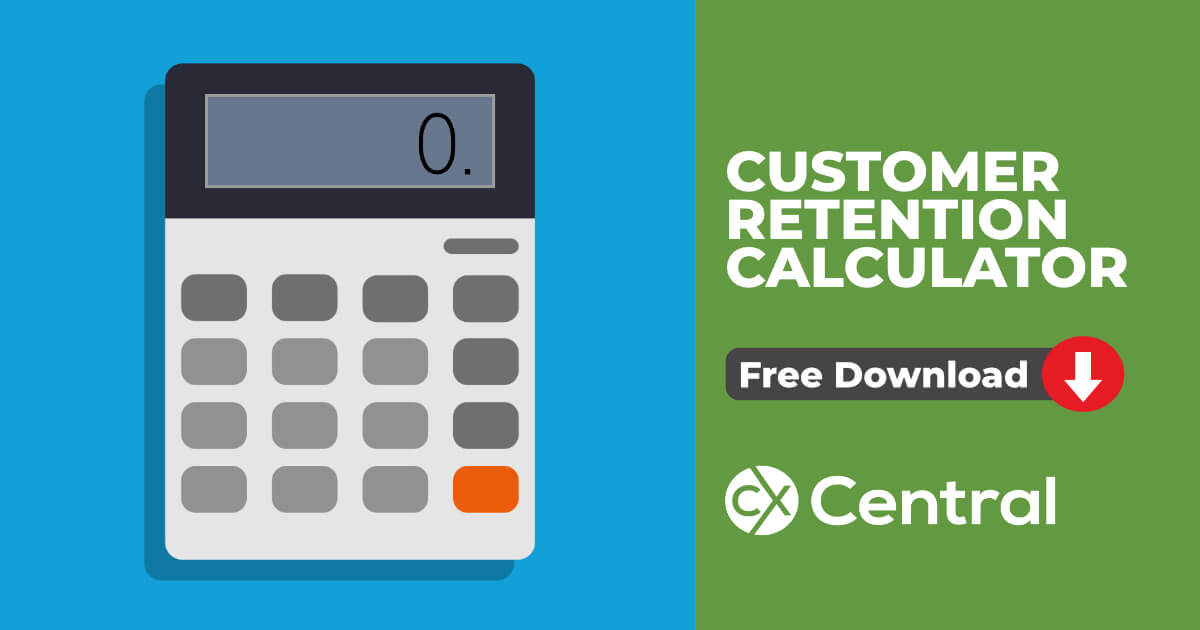 Customer Retention Calculator Excel download