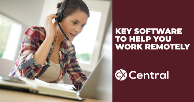 Tools Helping you Work Remotely in the contact centre