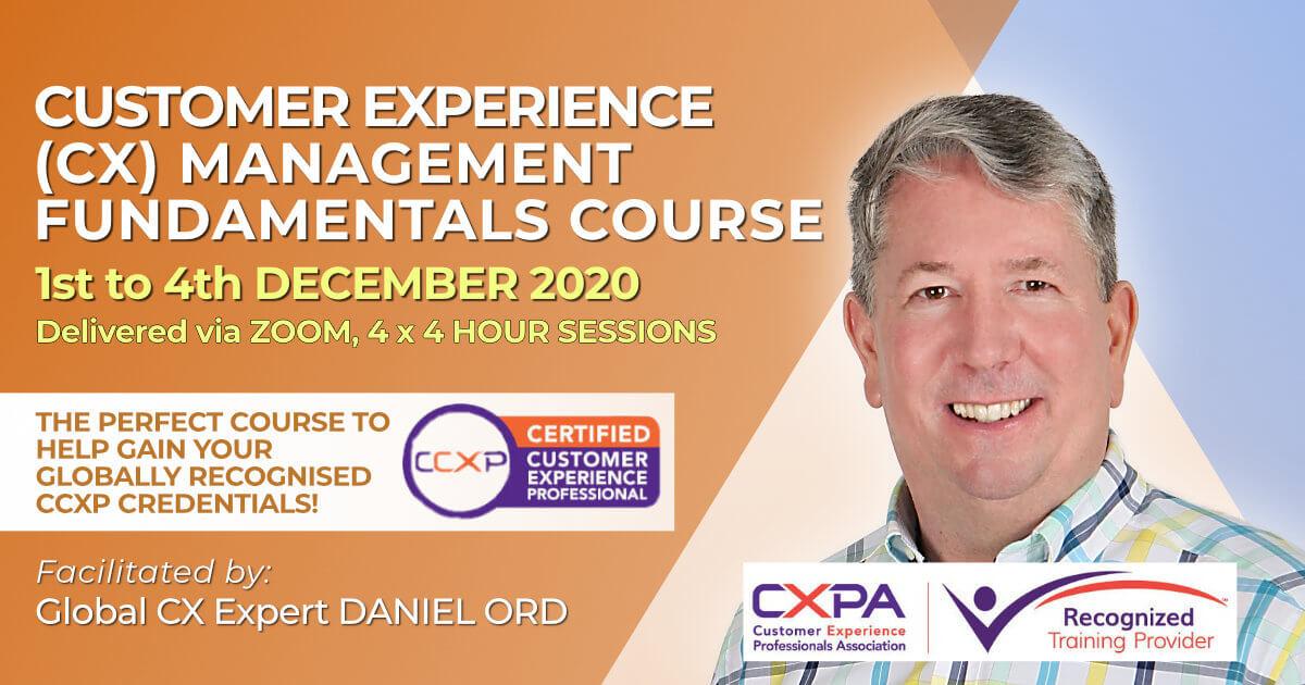 CX Management Fundamentals December 2020 RTP