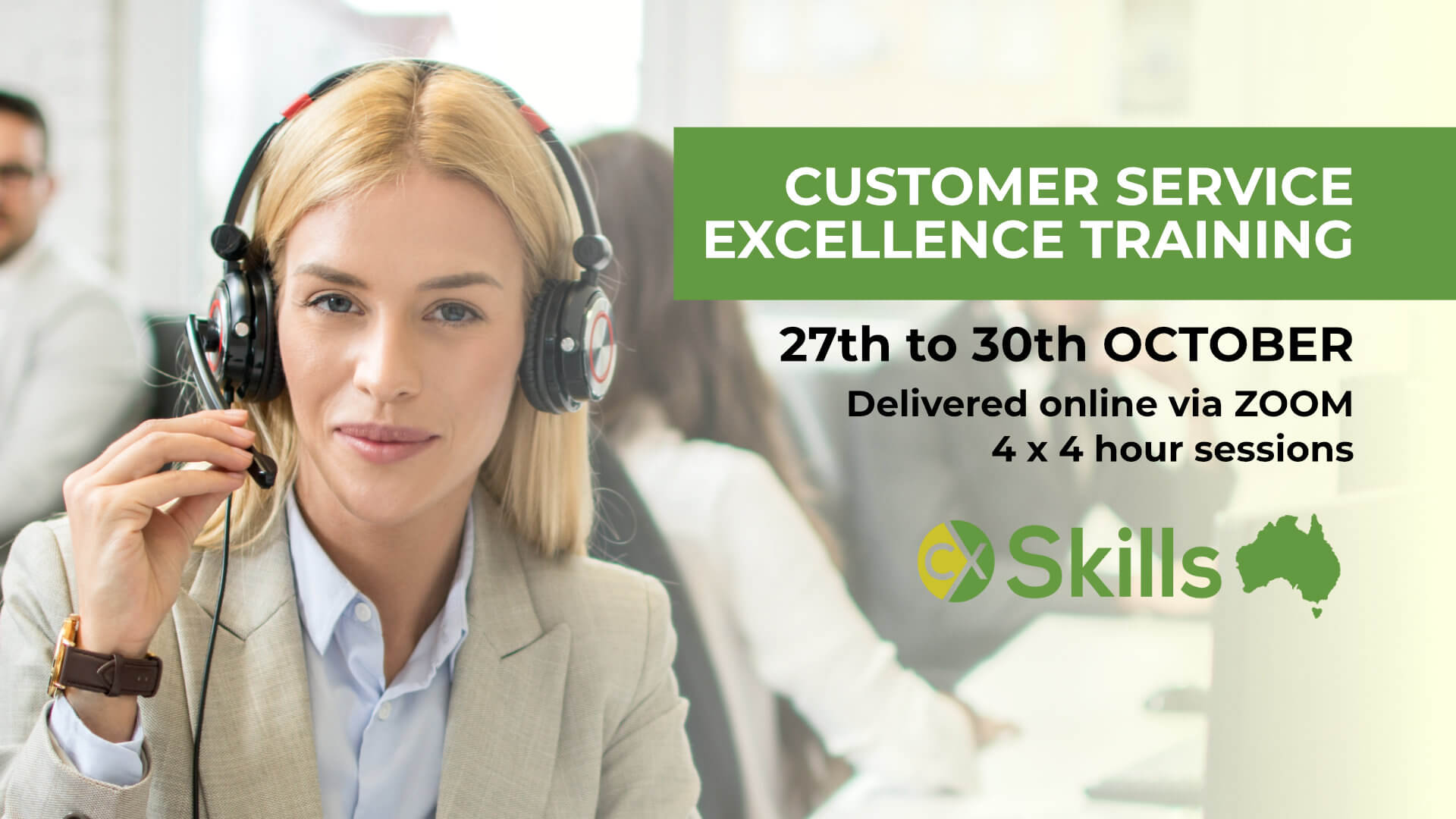 Customer Service Excellence training October 2020