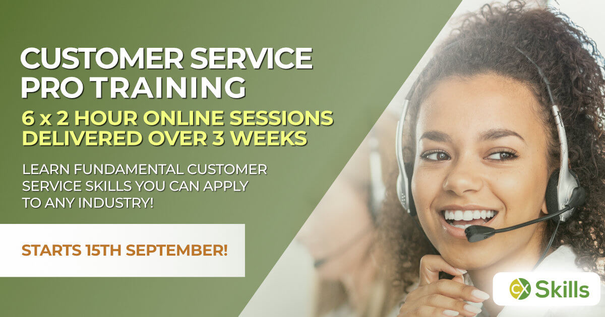 Customer Service Professionals Training Sep 2020