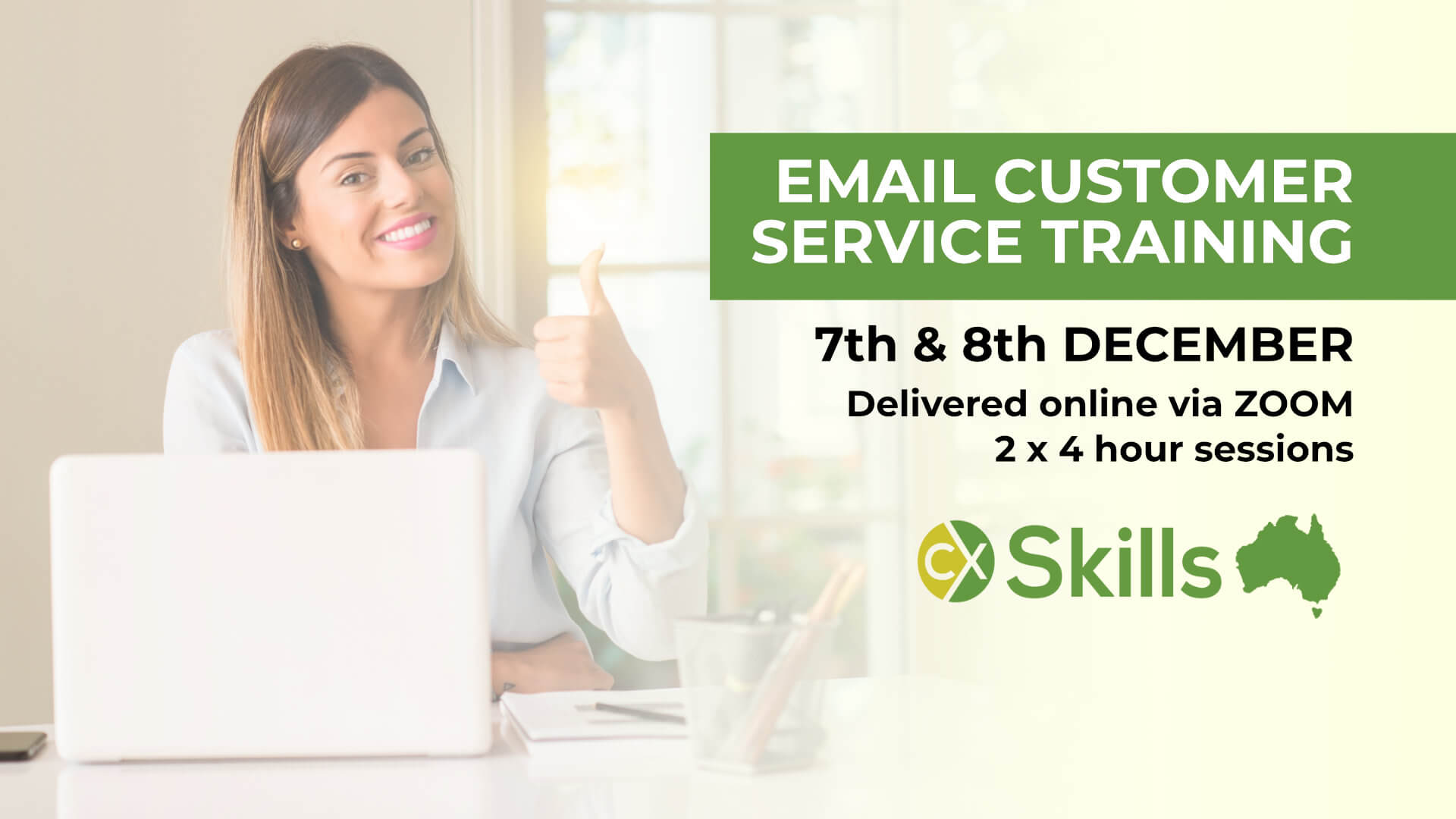 Email Customer Service training December 2020