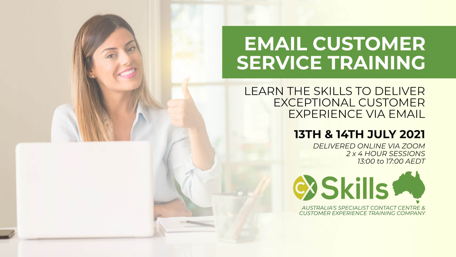 Customer Service training for emails July 2021