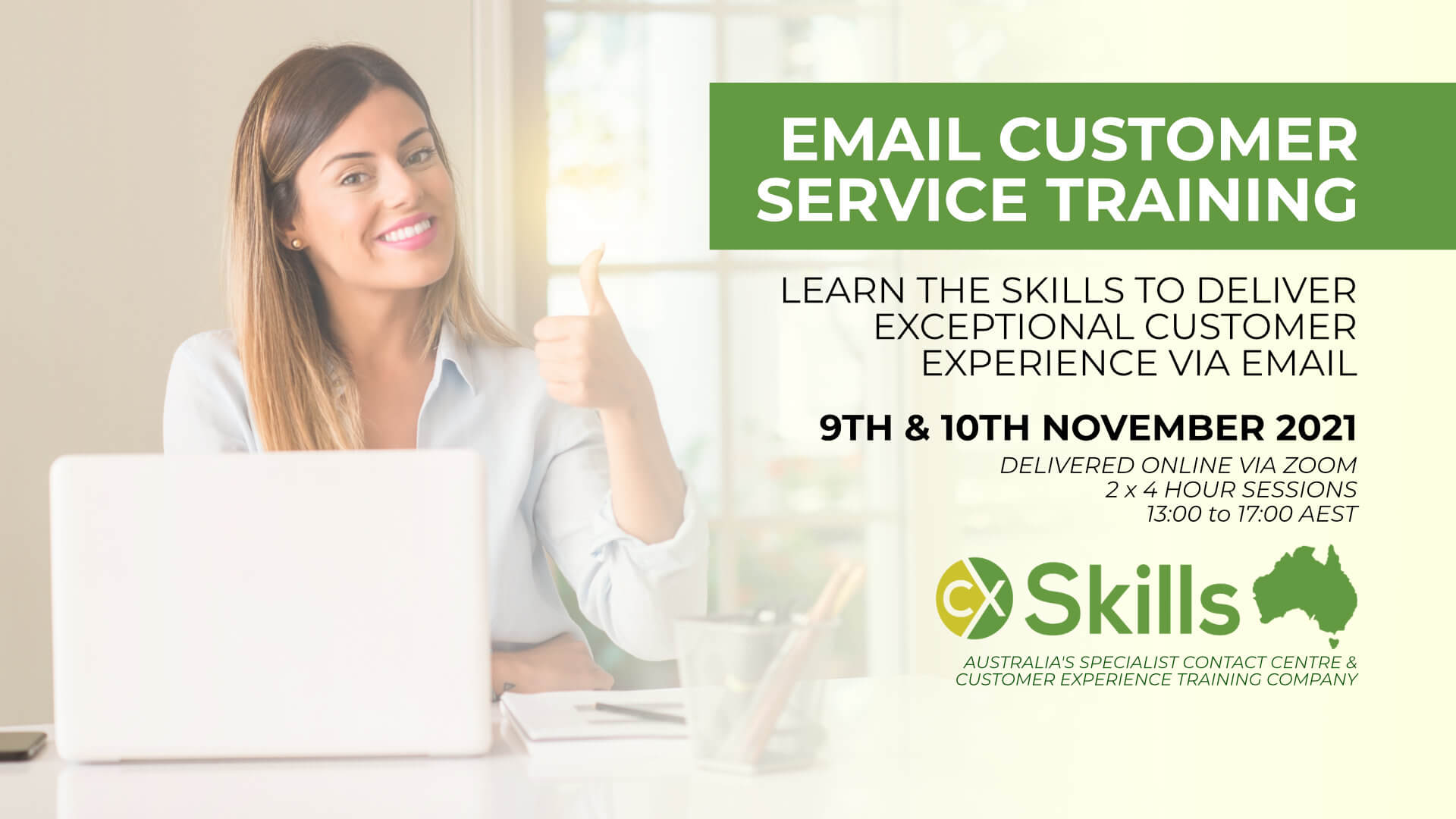 Email Customer Service training November 2021