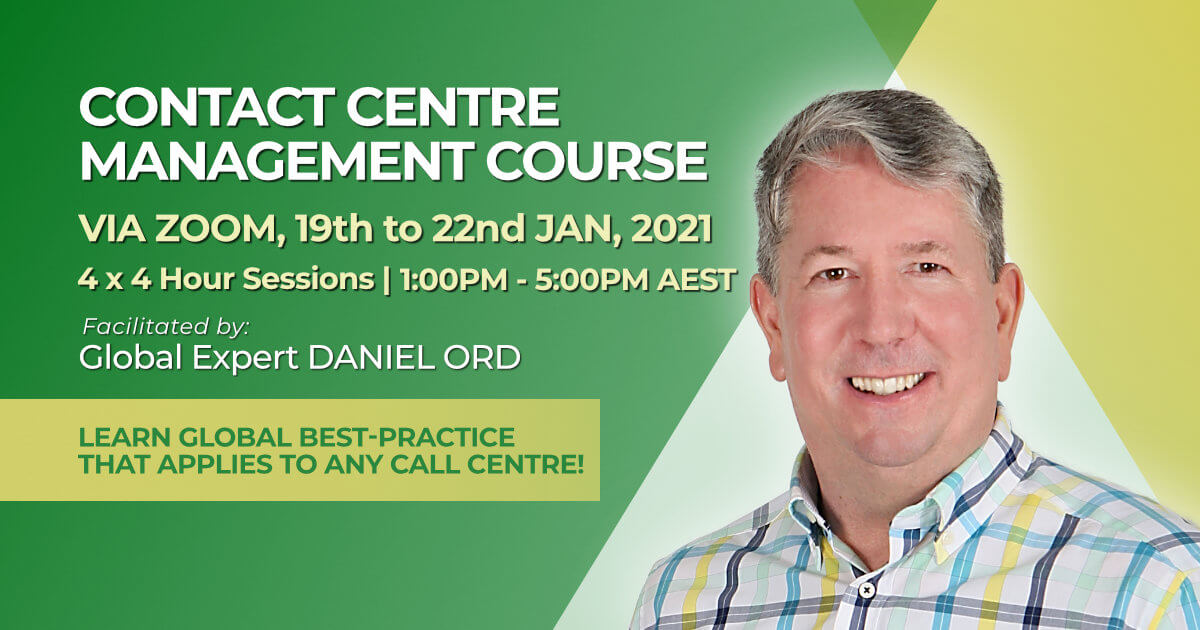 January 2021 Contact Centre Managers Course
