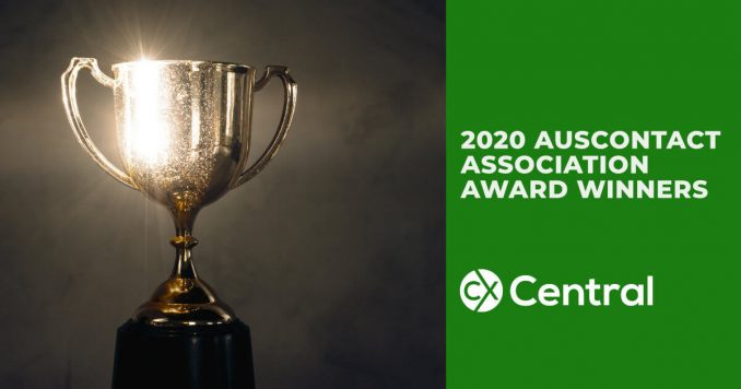2020 Auscontact Association Award Winners for call centres in Australia